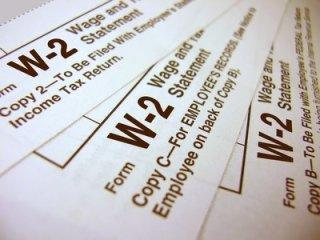 Preparing a Form W-2