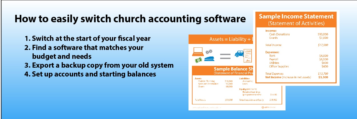 Switch Church Accounitng Software