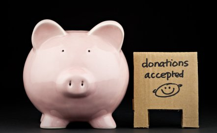 How a nonprofit or church should  record donated goods and services.